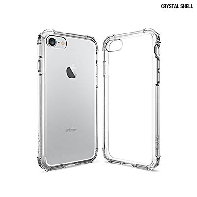 Spigen iphone 7 Crystal Shell-美國軍規認證雙料防震...
