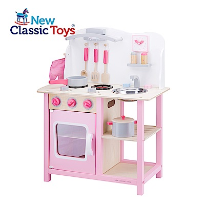 荷蘭New Classic Toys 甜心小主廚木製廚房玩具 - 11054