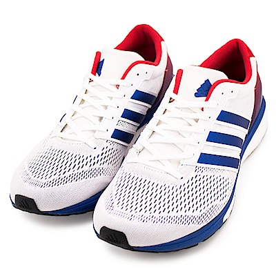 ADIDAS-男慢跑鞋BA8145-白