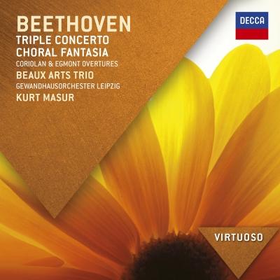 貝多芬-三重協奏曲-合唱幻想曲-1CD