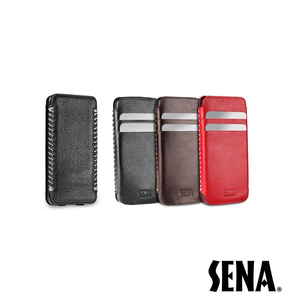 SENA iPhone 5/5S/SE Lusio手工縫製綁線保護套 @ Y!購物