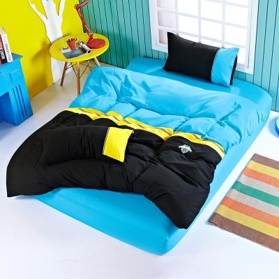 Alieen 足球運動瘋 奧米伽 雙人四件式床包組