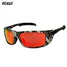 Nessie尼斯眼鏡 專業運動偏光太陽眼鏡-叢林迷彩