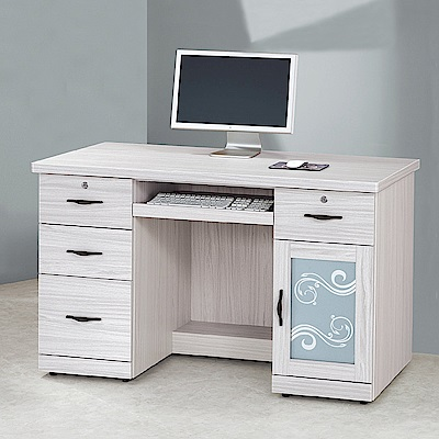 Bernice-維卡斯4.2尺電腦書桌/工作桌-126x60x81cm