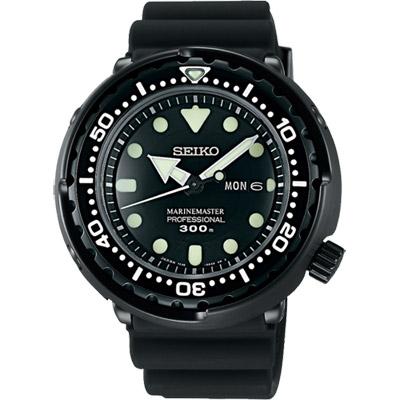 SEIKO PROSPEX 50周年特別款300米潛水錶(SBBN035J)-黑/48mm