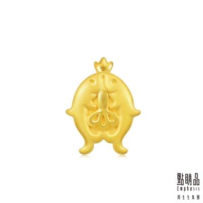 點睛品 Charme 文化祝福 八瑞相金魚 黃金串珠