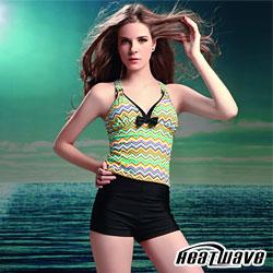 【Heatwave】 繽紛甜野 萊克二件式泳裝(加大)