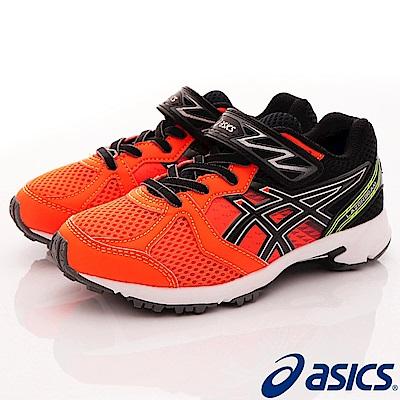 asics競速童鞋 LAZERBEAM款 EI19N-3090橘(中大童段)