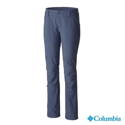【美國Columbia哥倫比亞】防曬50快排長褲-女-墨藍(UAL87680IB)