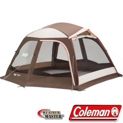 Coleman 27284 氣候達人透氣循環網屋/400附襟布 公司貨露營炊事帳/客廳帳