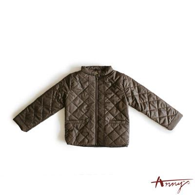 經典領扣鋪棉外套*3466咖啡
