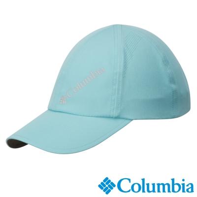【Columbia哥倫比亞】女-快排防曬30棒球帽-藍灰色  UCL90160GL