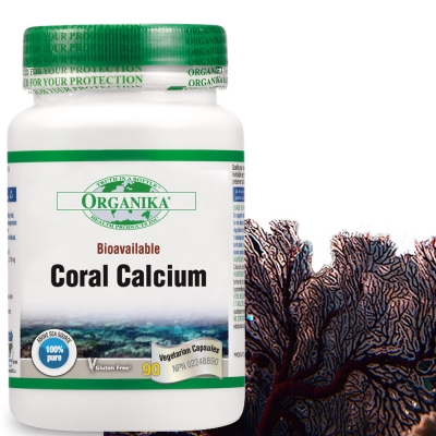 Organika優格康-珊瑚鈣素食膠囊(90顆 )