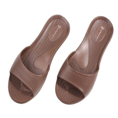 休閒拖鞋系列-輕便家居拖鞋-咖啡色