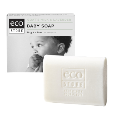 紐西蘭ecostore 純淨寶寶香皂-羊奶薰衣草 80g