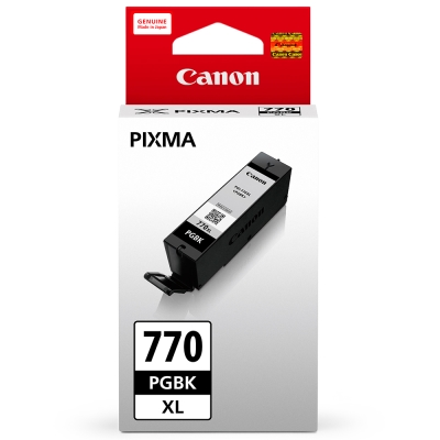 CANON PGI-770XL-BK 原廠黑色高容量墨水匣