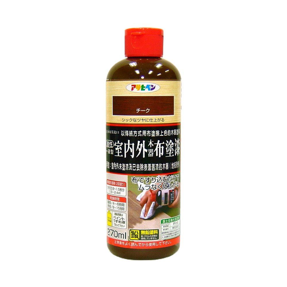 日本製油性室內外布塗漆270ML (8色)