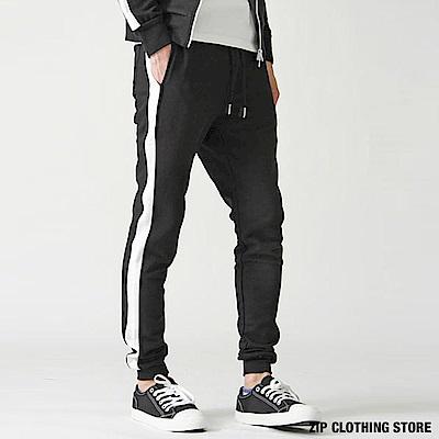 休閒運動縮口褲(2色) ZIP日本男裝
