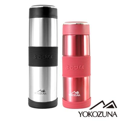 YOKOZUNA 316不鏽鋼活力保溫杯800+600超值組