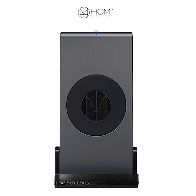 HOMI MultiDock 鋁鎂合金多功能QI無線充電座 - 灰
