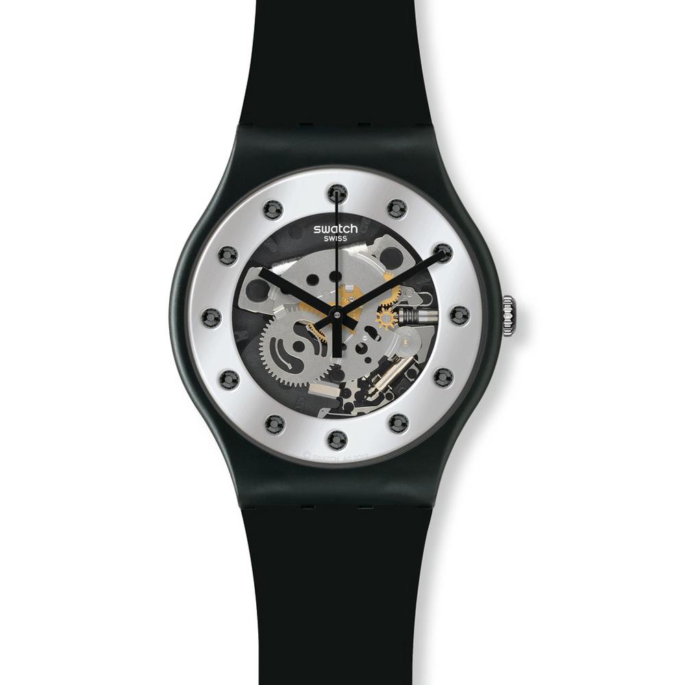 Swatch 原創系列 SILVER GLAM 個性鏤空手錶