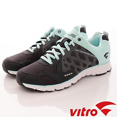 Vitro韓國專業運動品牌-Mode StepⅢ-頂級專業慢跑鞋-藍綠(女)