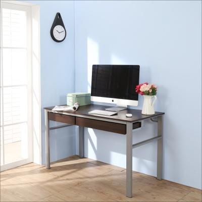 BuyJM低甲醛防潑水120公分雙抽屜穩重型工作桌-DIY