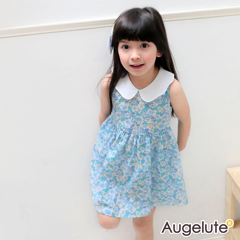 baby童衣 洋裝 女童無袖翻領裙子 42142