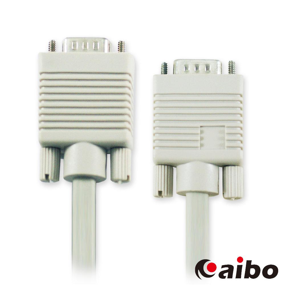 aibo VGA 15pin公 對 15pin公 2919 螢幕訊號傳輸線 - 15M
