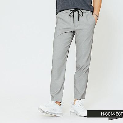 H:CONNECT 韓國品牌 男裝-純色質感長褲-灰