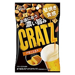 GOLICO格力高 CRATZ卡滋脆餅鹽味奶油風味(42g)