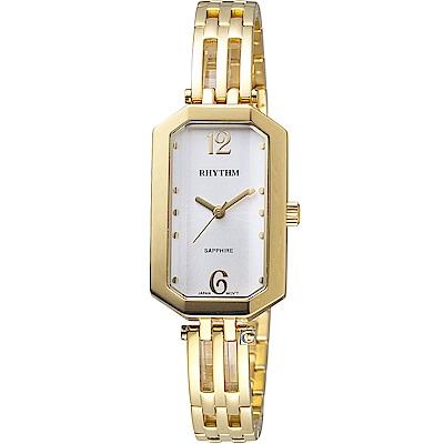 日本麗聲錶RHYTHM知性品味時尚腕錶(LE1612S05)-22x35mm