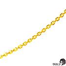 【歷代風華】永恆黃金(約0.98錢)項鍊
