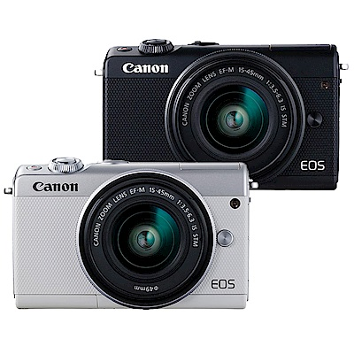 CANON EOS M100+15-45mm IS STM 單鏡組*(中文平輸)