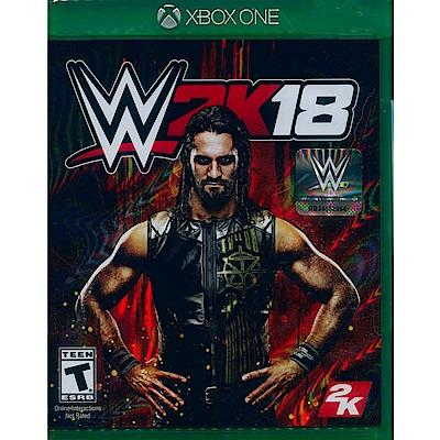 WWE 2K18 激爆職業摔角 18 - XBOX ONE 英文美版