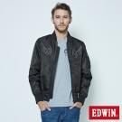EDWIN 浮羽纖橫須賀潮流外套-男-黑色