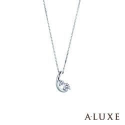 A-LUXE 亞立詩 Happiness 10分美鑽項鍊