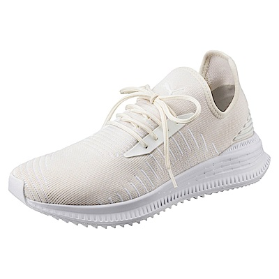 PUMA-AVIDevoKNIT男女慢跑鞋-牙白