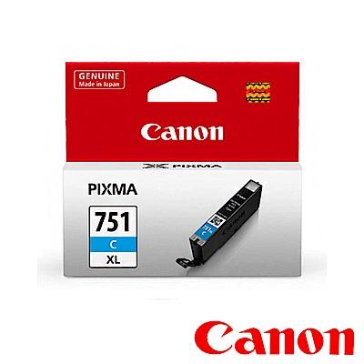 Canon CLI-751XL C 原廠藍色高容量XL墨水匣