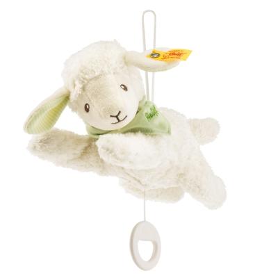 STEIFF德國金耳釦泰迪熊 - 嬰幼兒音樂鈴 Lenny lamb music box