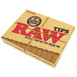 RAW 西班牙進口-PREROLLED TIPS-預捲紙濾嘴-6mm*2盒