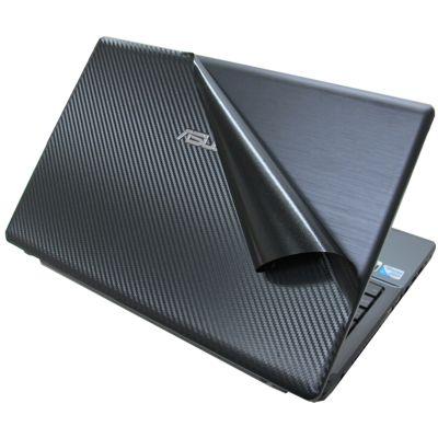 Ezstick Carbon立體紋機身保護膜-ASUS X55 X55VD X55C 專用