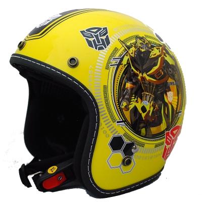 變形金剛安全帽 382D 大黃蜂彩繪系列(黃色)