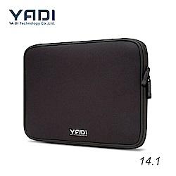 YADI 14.1吋 記憶泡綿 防震內袋 電腦包