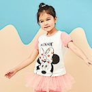 Disney 米妮系列閃亮女孩圓領上衣 (2色可選)
