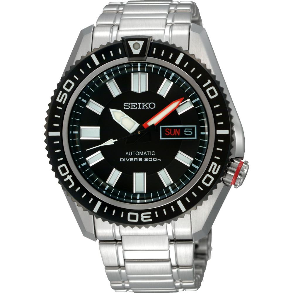 SEIKO精工 DIVER'S 200m 潛水機械錶(SKZ325J1)-44mm
