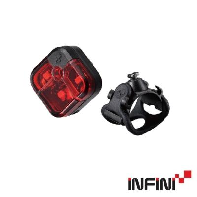 《INFINI》I-220R 3LED後燈 紅