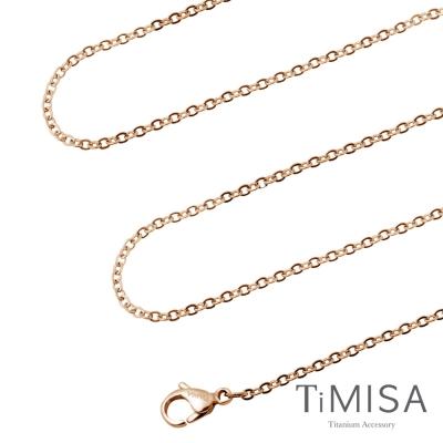 TiMISA 璀璨十字 純鈦項鍊-E(雙色可選)