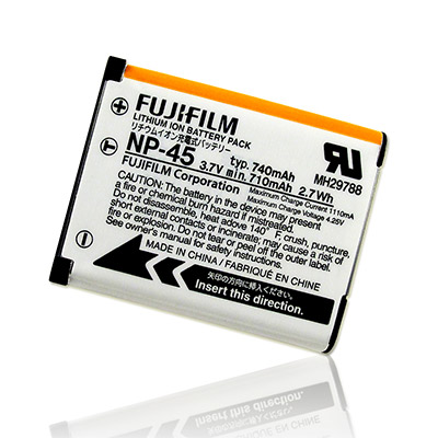 Fujifilm NP-45a / NP-45 相機適用電池(無吊卡)