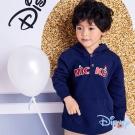Disney 歡樂米奇米妮連帽刷毛上衣 丈青